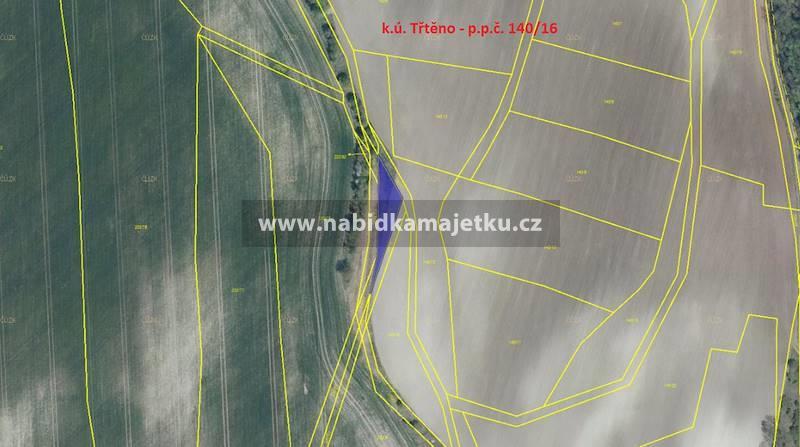 Třtěno - p.p.č. 140/16 o výměře 339 m2
