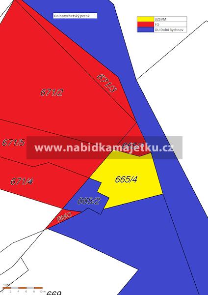 Pozemek p.č. 665/4 v k.ú. Dolní Rychnov