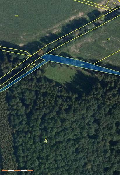 Chraštice - pozemek pozemková parcela č. 1158