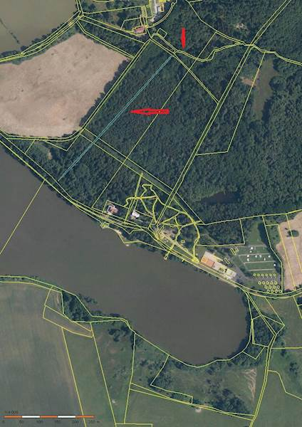 Pozemky p. č. 1053/3 a  č. 1053/6 v k.ú.