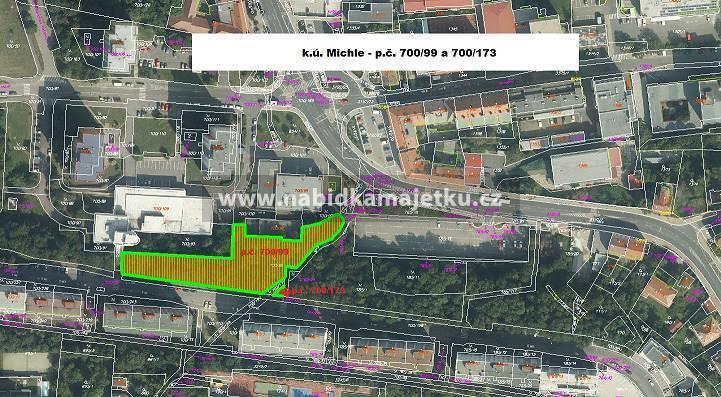 77210801 (VS): Praha – pozemky  p.č. 700/99 a p.č.