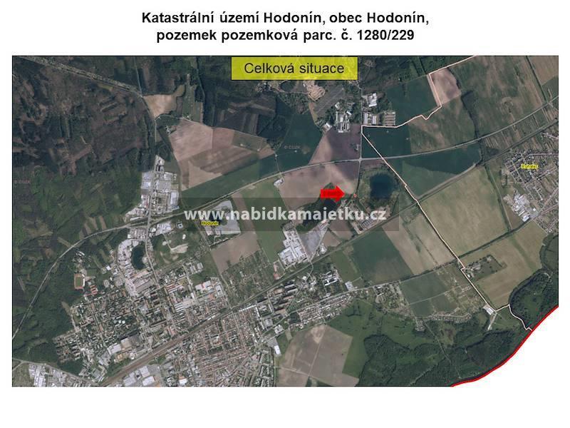 Hodonín, pozemková parc. č. 1280/229