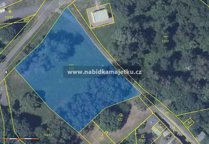 Pozemek p.č. 124, o výměře 3361 m2, k.ú. Chudeřín