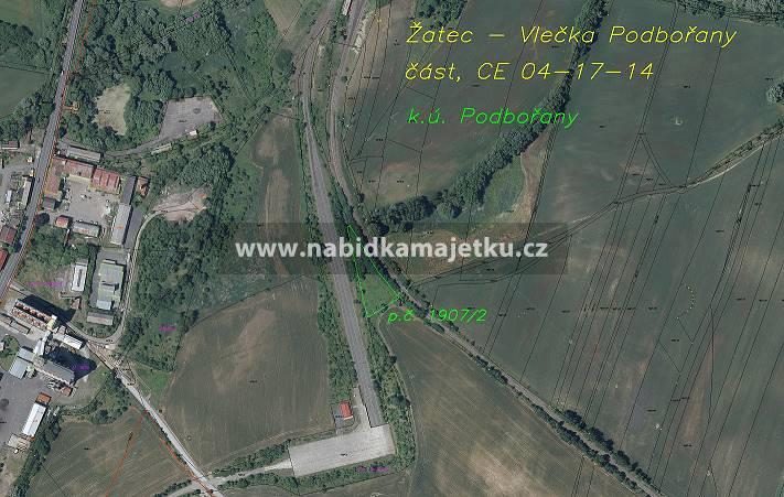 77210906 (VS): Podbořany – pozemek p.č. 1907/2, k.