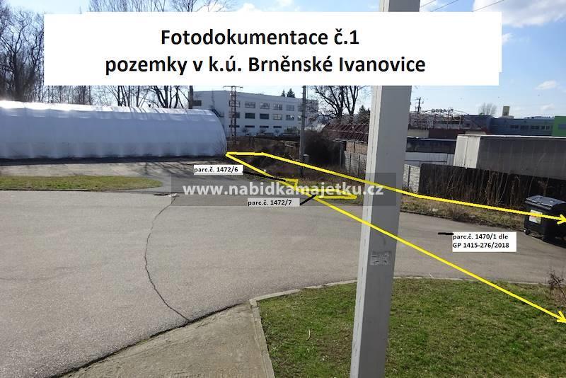 Vyhlášení aukce na prodej pozemků parc.č. 1470/1