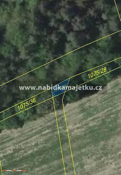 Vlkančice - pozemek pozemková parcela č. 1075/29,