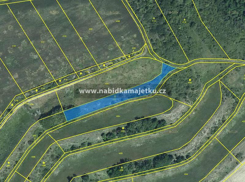k.ú. Kurdějov, pozemky pozemková parc. č. 4092 a 4