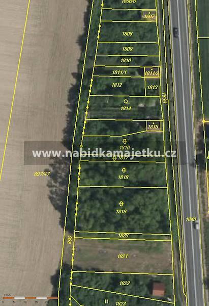 Vrbovec, parc. č. 1818, aukce č. EAS/BZN/7/2021