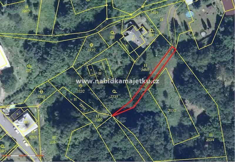 Pozemková parcela č. 348/12 v k.ú. Prostřední