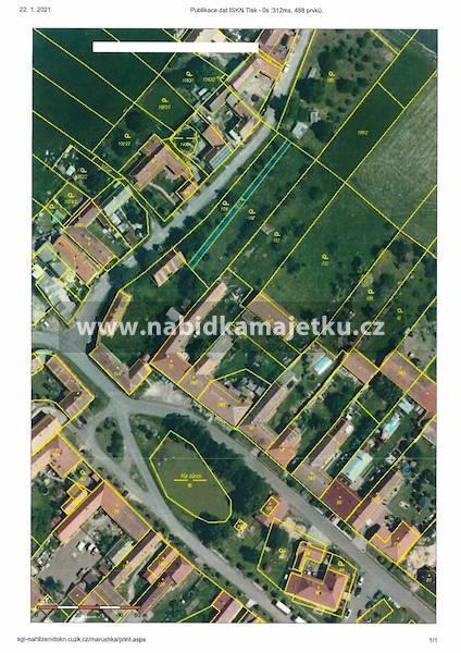 Bzová u Hořovic, id. 1/2 pozemku p.p.č. 1317,