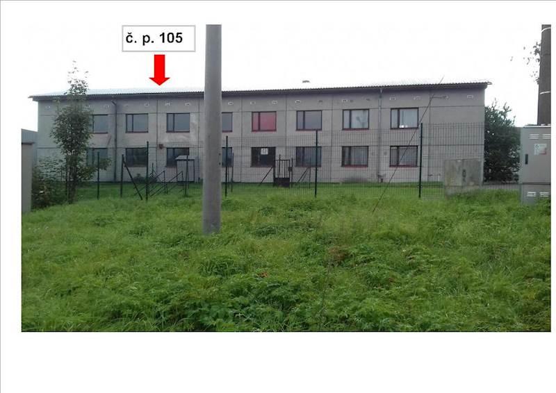 Budova č. p. 105 v k. ú. Oldřichovice u Ústí nad