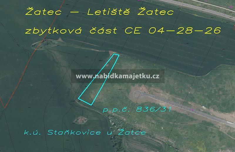 77210603 (VS): Žatec – samostatný pozemek p.p.č. 8