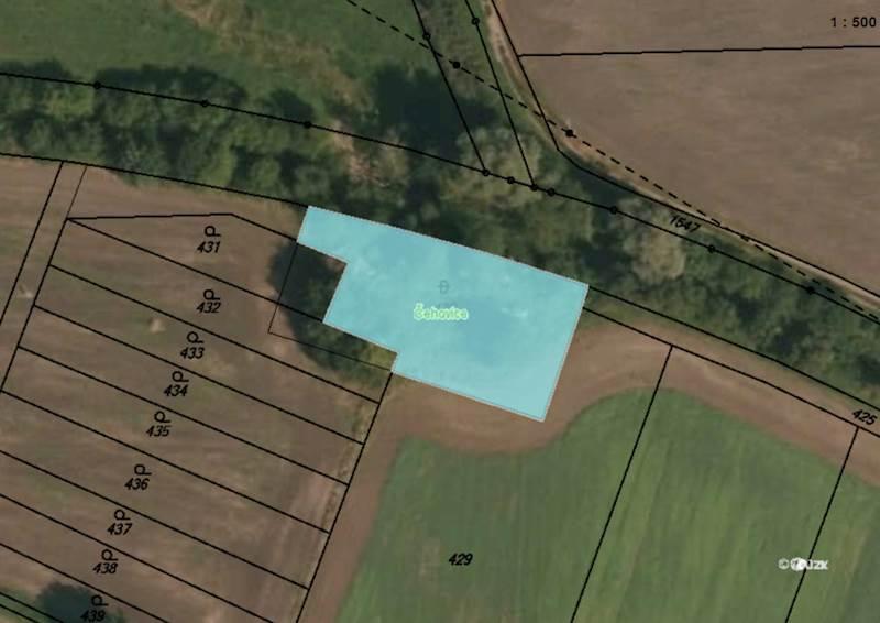 Čehovice, pozemek pozemková parcela č. 430