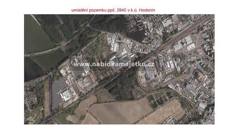 Hodonín, pozemková parc.č. 2840