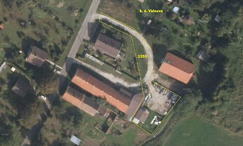 AUKCE - pozemek p. č. 1355 v k. ú. Vidnava, obec
