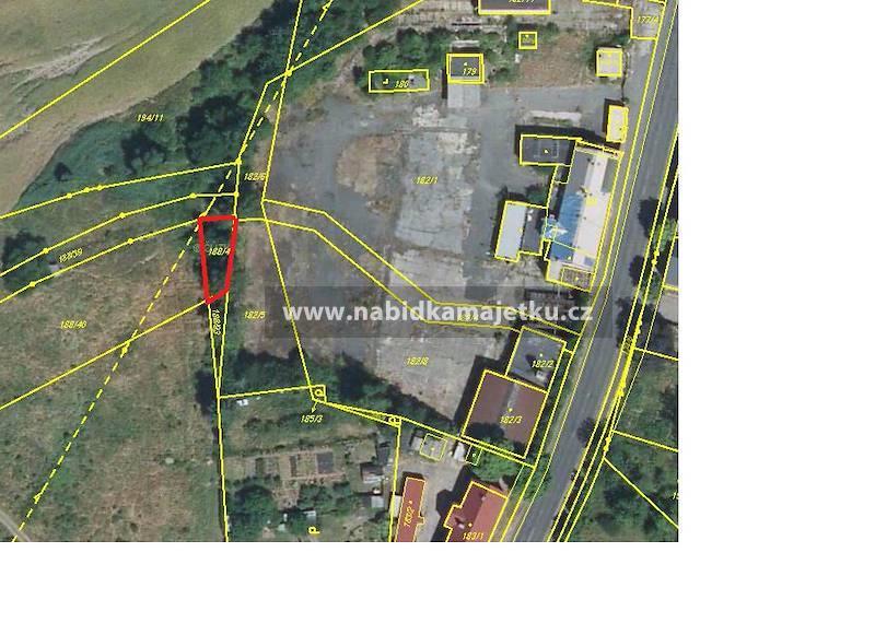 Hlubany pozemek p.č. 188/41 o výměře 155 m2