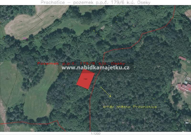 77210903 (VS): Prachatice - pozemek p.p.č. 179/6,