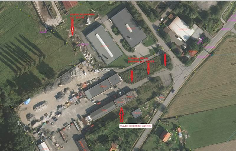 Stavby v bývalém areálu VFU Brno v k.ú. Příbor,