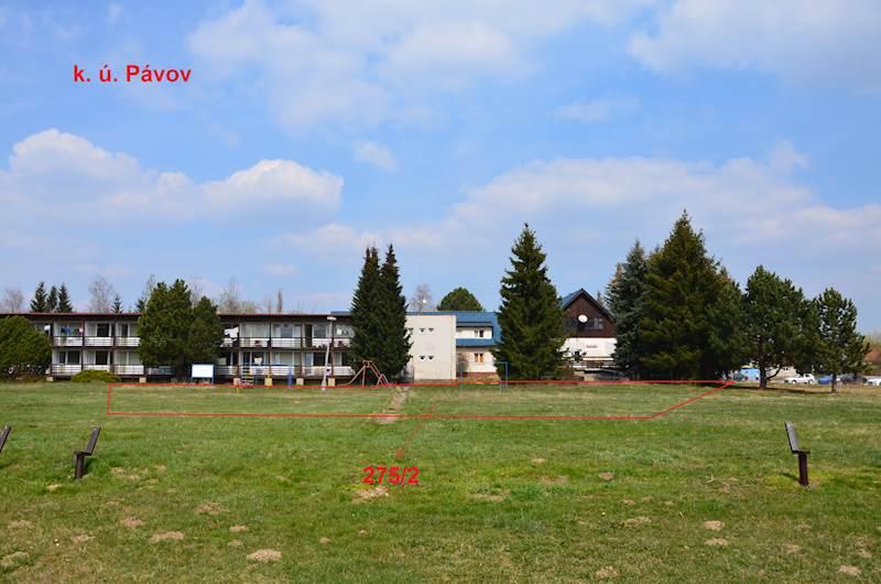 Pávov,  parc. č. 275/2