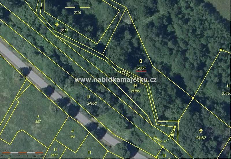 Pozemková parcela č. 2436/1 v k.ú. a obci
